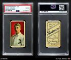 1909 T206 Eddie Collins Philadelphia Athletics PSA 2 - GOOD