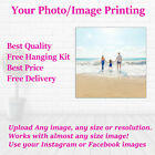 Quality Personalised Photo on Canvas Ready to Hang Canvas Print Free hanging Kit