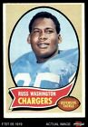 1970 Topps #206 Russ Washington Chargers Mizzou 4 - VG/EX $1.25 USD on eBay