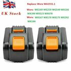 20V 18V Li-Ion Battery for WORX WA3551.1 Cordless Drills Electrical Appliances