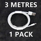 Apple iPhone Charger Cable 2M 3M Long Charging Lead Lightning To USB Cable Fast