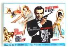 """From Russia With Love FRIDGE MAGNET movie poster """"style B"""" james bond $5.95 USD on eBay"""