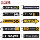 Kyпить Keychain REMOVE BEFORE FLIGHT Key Chain for Motorcycles and Cars Key Tag на еВаy.соm