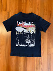1986 Led Zeppelin t-shirt insanely Rare band rock jimmy page Robert planet G1298 image
