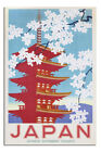 LAMINATED Japan Government Railways Blossom Poster Official Licensed 24x36""