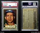 1952 Topps #71 Tom Upton Senators PSA 7 - NM