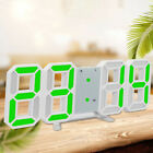 Large Digital LED Wall Desk Clock Temperature Office Home Hour Display Tool Kits