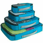 4Pcs Packing Cubes For Travel Luggage Accessories Organizer Bag Home Storage Use