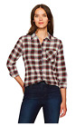 NWT!!! Pendleton Women's long sleeve shirt MULTI PLAID-SIZE *FREE SHIPPING*