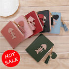 Cute Women Wallet Leather Short Zipper Pocket ID/Credit Card Holder Small Purse image