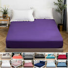 MOHAP Queen Size Bed Fitted Sheet 16'' Extra Deep Bottom Sheets Fade Resistant