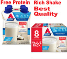 Atkins Gluten Free Protein-Rich Shake, Creamy/French Vanilla, Keto Friendly.....