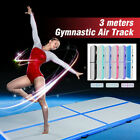 10/13/16ft 10/20cm Air Track Home Inflatable Gymnastics Tumbling Mat + Free Pump image