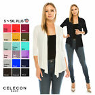 Kyпить CB Women 3/4 Sleeve Open Front Lightweight Stretch Cardigan - Made in USA(1189) на еВаy.соm