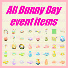 Animal Crossing New Horizons Bunny Day / Easter Event All 41 items, DIY  Eggs