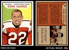 1965 Topps CFL #78 Gene Gaines Ottawa Rough Riders UCLA 5 - EX