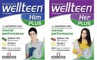 Wellteen Her/HIM Plus 13-19 years 56 Tablets/Capsules