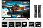Fernseher LED TV 24 32 40 50 Zoll Full HD DVB-T2/S2 Smart-Option Elements