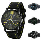 Men's Stainless Steel Casual Analog Quartz Wrist Watch Business Watches Gifts image