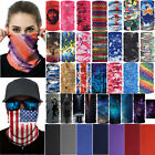 Unisex Bandana Head Face Mask Cover Neck Gaiter Snood Headwear Beanie Tube Scarf