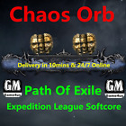 Chaos Orb Path of Exile Ritual League Softcore SC POE PC New Item Cheap Fast NA