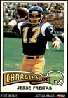 1975 Topps #518 Jesse Freitas Chargers San Diego St / Stanford 7 - NM $1.45 USD on eBay