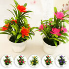 Artificial Lotus Leaf Flower Plants In Pot Fake Home House Party Decor Ornaments