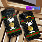 Case iPhone 6 X XR XS 11 Pro Max/Samsung Galaxy Note10 S20Guccy54CasesSnoopy