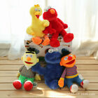 Kaws X Uniqlo X sesame street Cookie monster/Ernie/Elmo/Bird/Bert Plush HOT