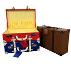 Haworth & Rose Coloured Hardcase Carry Case Suitcase With Combination Lock