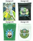 Rick and Morty Mylar Resealable Smell Proof 3.5g Bags | USA Free Shipping