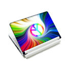 """Peacock Feathers Vinyl Tablet Sticker Skin Decal Cover For 9""""-10.2"""" Laptop PC"""