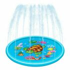 Inflatable Sprinkler Pad Outdoor Sprinkle and Splash Water Play Mat Toy for Kids