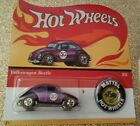 *HOTWHEELS - NEW - 50TH ANNIVERSARY - RETRO RED LINE WHEELS - C/ W BUTTON BADGE