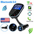 In Car Bluetooth FM Transmitter Radio MP3 Wireless Adapter Car Kit 2 USB Charger