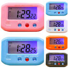 2.7 Small Digital Time Date Alarm Clock Stop Snooze Night Light Table Desk Room