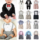 Kyпить Baby Toddler Boy Wedding Christening Tuxedo Formal Dress Bow Tie Suit Outfits на еВаy.соm