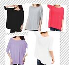PIKO FAMOUS 1988 3/4 Sleeve Top S/M/L Bamboo New Colors