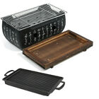 Japanese Korean Style Hibachi BBQ Table Grill Barbecue Stove Cooker 2-4 People