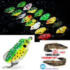 NEW Frog Topwater SILVER TAIL Lure Bass/Snakehead/Pike USA Seller Hi Splash Bait $17.95 USD on eBay
