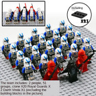 23 Pcs Minifigures Stormtrooper clone trooper - Army Trooper Star War Lego MOC