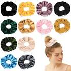 Premium Velvet Scrunchie With Zipper Pocket For Women And Girls
