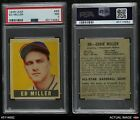 1948 Leaf #68 Ed Miller Phillies PSA 7 - NMBaseball Cards - 213