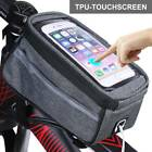 Waterproof MTB Mountain Bike Frame Front Bags Pannier Hiking Mobile Phone Holder