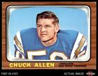1966 Topps #118 Chuck Allen Chargers Washington 6 - EX/MT $9.5 USD on eBay