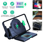 Universal QI Wireless Car Phone Charger Fast Charging Pad Mat For iPhone Samsung