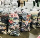 Wholesale Joblot Used Second Hand Clothes Shoes 25Kg Sacks Cream, Grade 1&2&3
