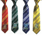 Cosplay Harry Potter Necktie Gryffindor Slytherin Ravenclaw Hufflepuff Tie Party