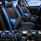 100% PU Leather Car Seat Covers Front & Rear Full Set for 5-Seats Car SUV Truck $95.99 USD on eBay