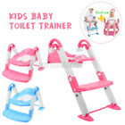 3 in 1 Kids Baby Potty Training Seat Todder Toilet Trainer Chair Ladder Stool US image